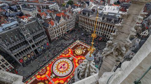 Bruselas abandona la comisión del tapiz floral por dar trato de país a Cataluña