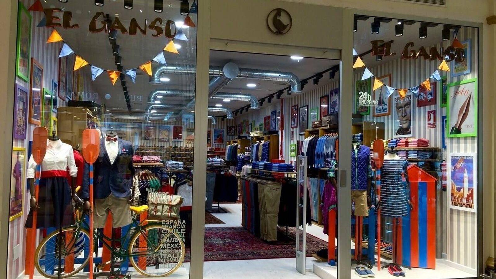 Foto: Imagen de una de las tiendas de El Ganso. (EFE)