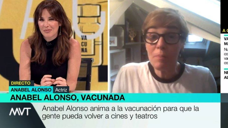 Mamen Mendizábal y Anabel Alonso, en 'Más vale tarde'. (Atresmedia)