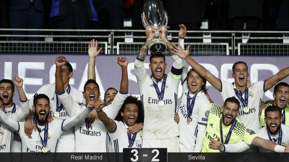 Ramos impone el 'estilo Lisboa' otra vez para hacer supercampeón al Madrid
