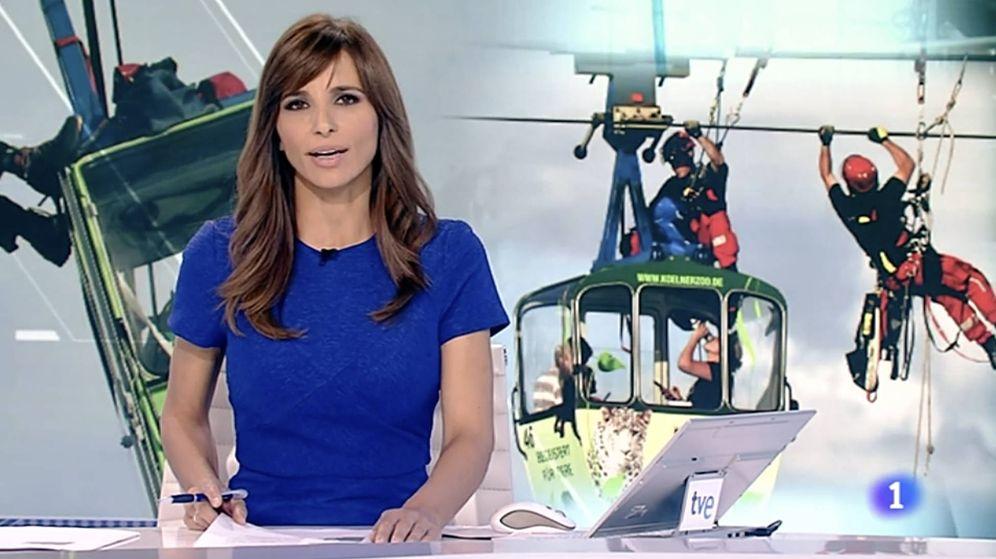 Foto: El 'Telediario', uno de los espacios más fuertes de La 1.