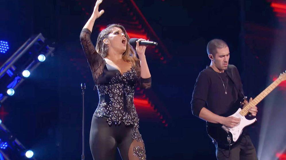 Foto: Cristina Ramos en 'Got Talent América'. (Youtube)