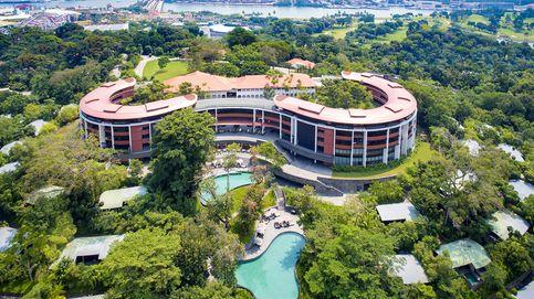 Un hotel de lujo en una antigua isla pirata: así es el punto de reunión de Trump y Kim