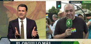 Post de El divertido baile de Antonio García Ferreras en el Orgullo LGTBI de Madrid