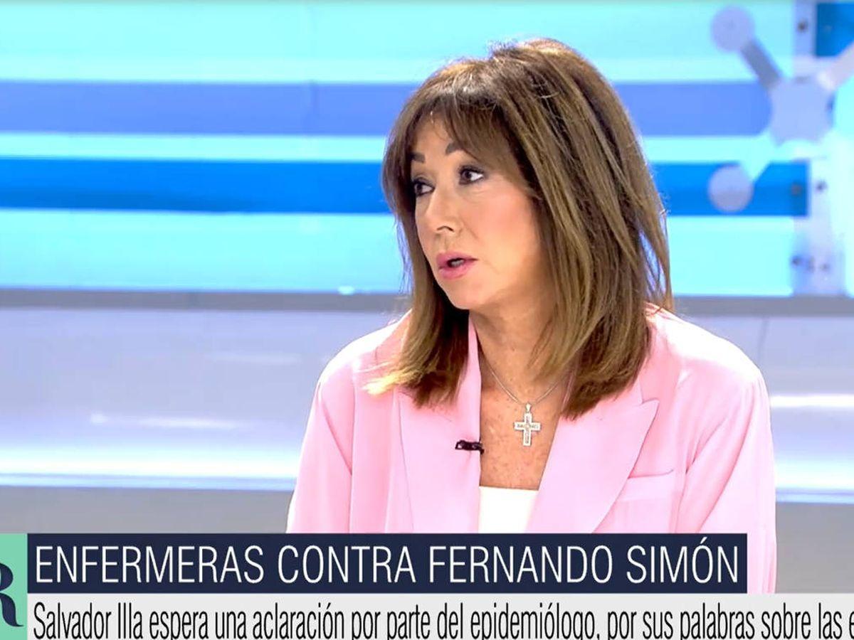 Foto: Ana Rosa. (Telecinco)