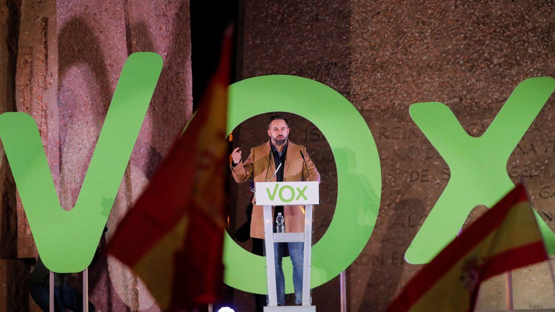 Foto: Abascal durante el cierra de campaña. (Reuters)