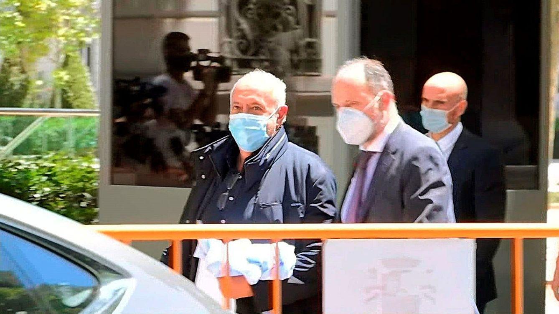 Foto: José Luis Moreno (i), el pasado 1 de julio, tras quedar en libertad.