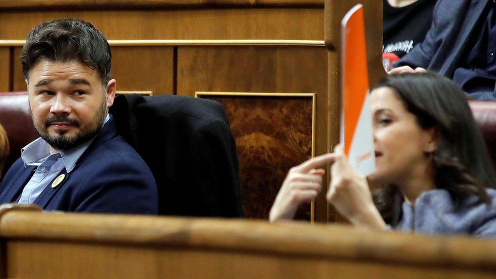 ERC rompe el bloque de la investidura y da a Sánchez la excusa para apoyarse en Cs