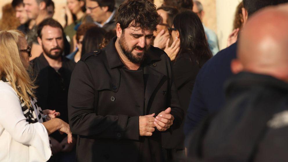 Antonio Orozco, roto en el funeral de su expareja, Susana Prat