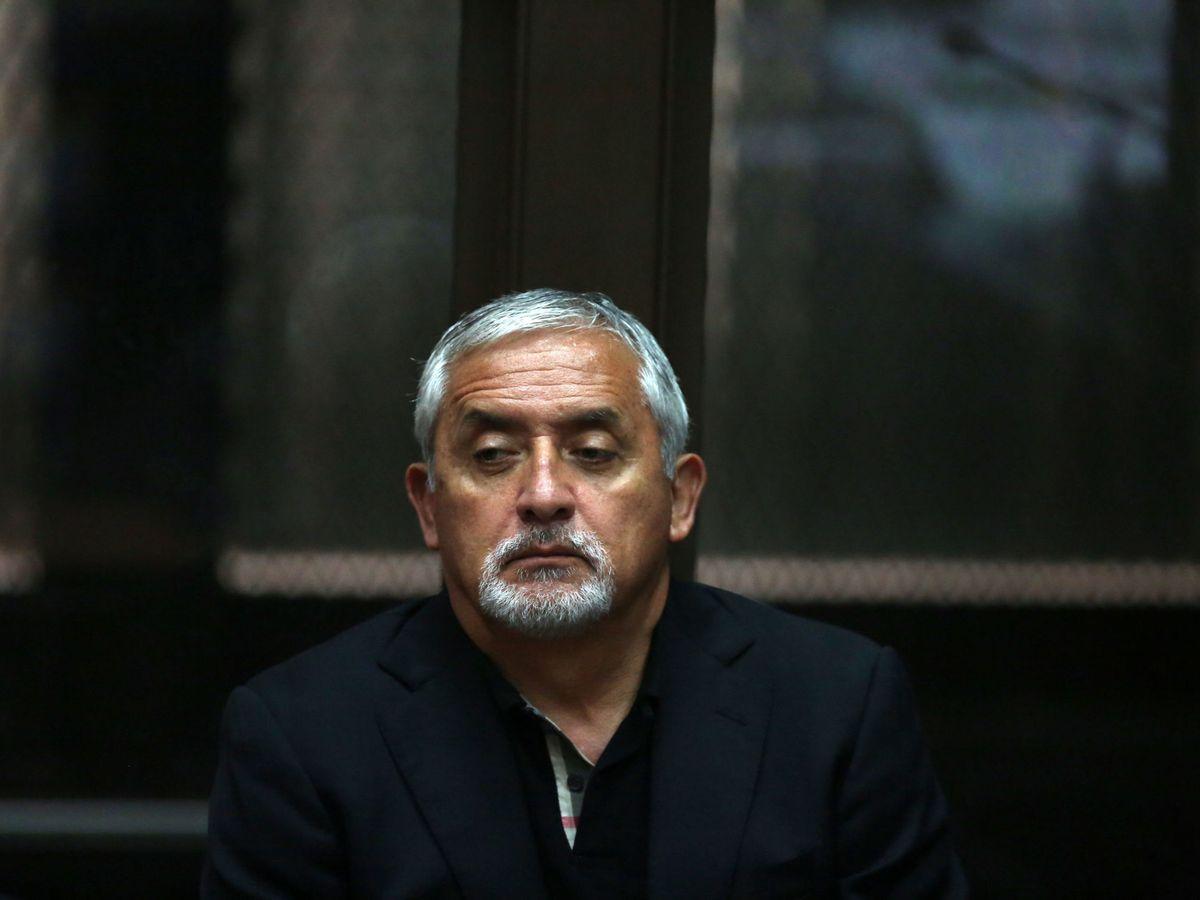 Foto: El expresidente guatemalteco Otto Pérez Molina. (EFE)