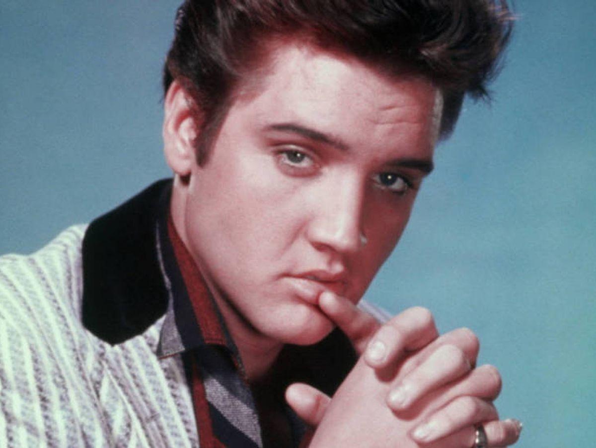 Foto: Elvis Presley en una imagen de archivo.