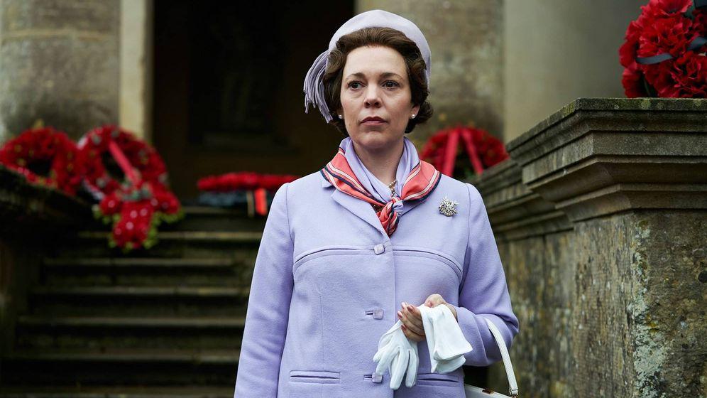 Foto: Olivia Colman es la reina Isabel en 'The Crown'. (Netflix)