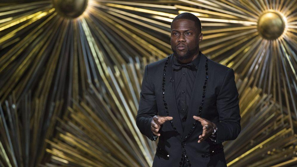 Foto: Kevin Hart, durante la celebración de los premios Oscar en 2016. (EFE)