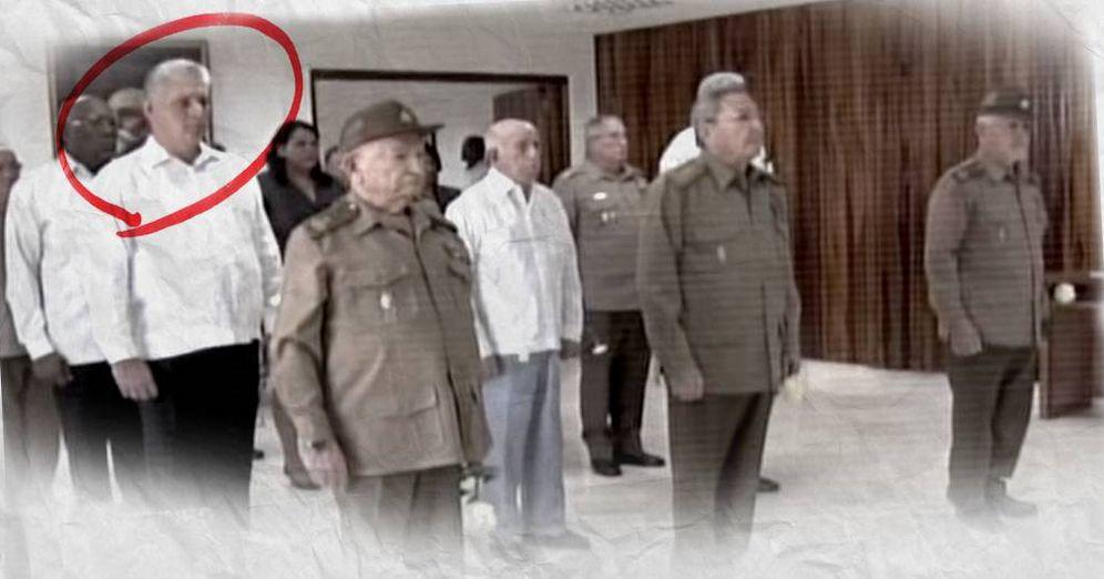 Foto: Los miembros del Buró Político del PCC, durante el homenaje de despedida a Fidel Castro. (YouTube/C. Castellón)
