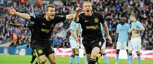 El Wigan de Roberto Martínez gana la FA Cup al poderoso Manchester City en el último minuto