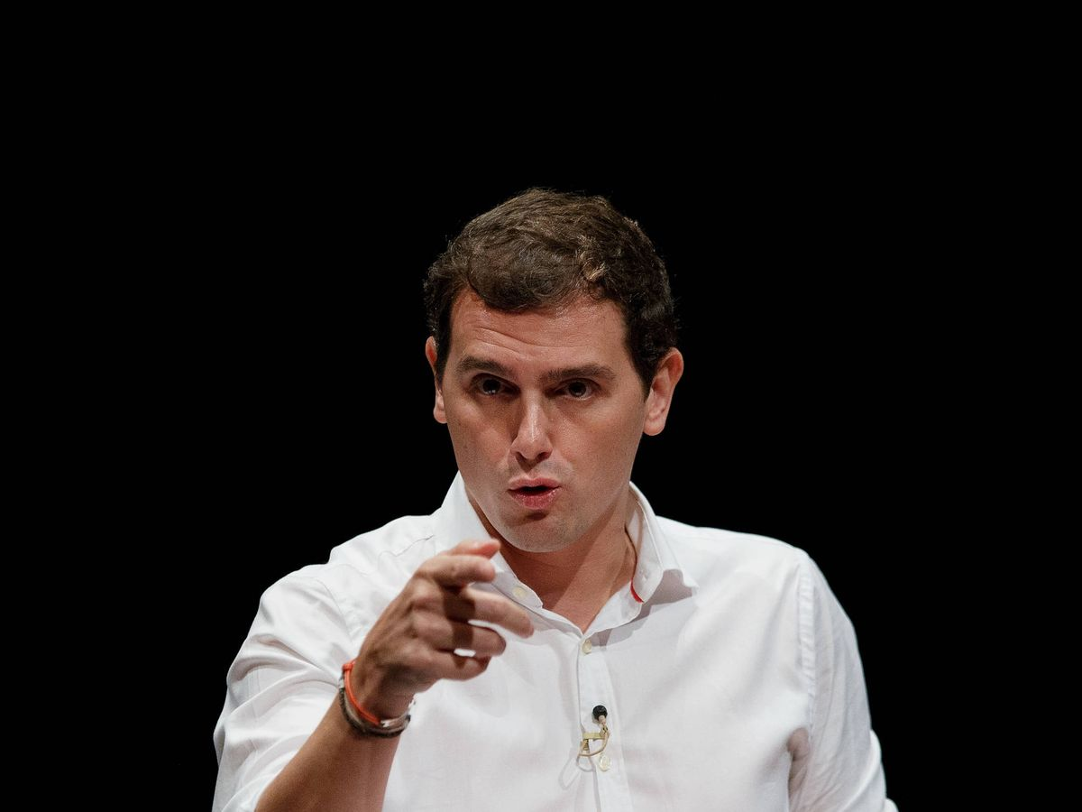 Foto: Albert Rivera, rey de memes. (Getty)