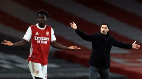 Arteta denuncia amenazas y el fútbol inglés recrimina a Facebook y Twitter