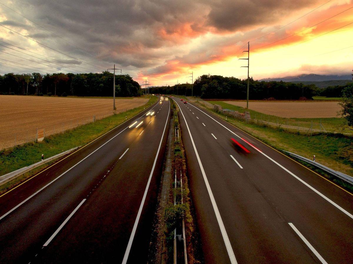 Foto: Una autopista. (Pixabay)
