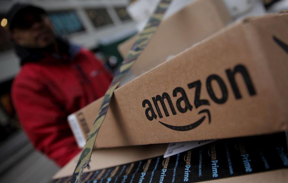 Foto: Un paquete de Amazon. (Reuters)