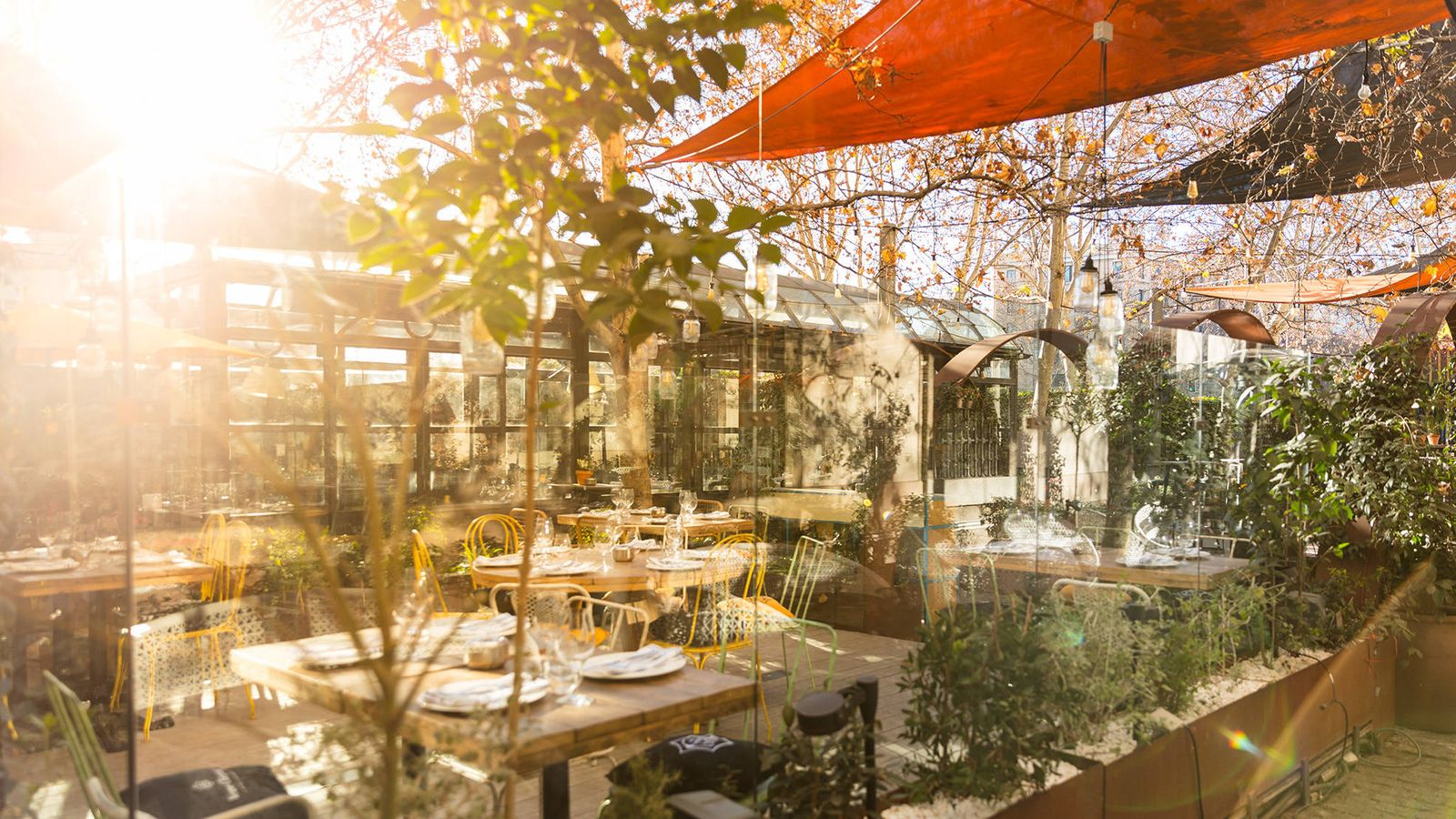Restaurantes Las Terrazas De Invierno Con Más Encanto Para