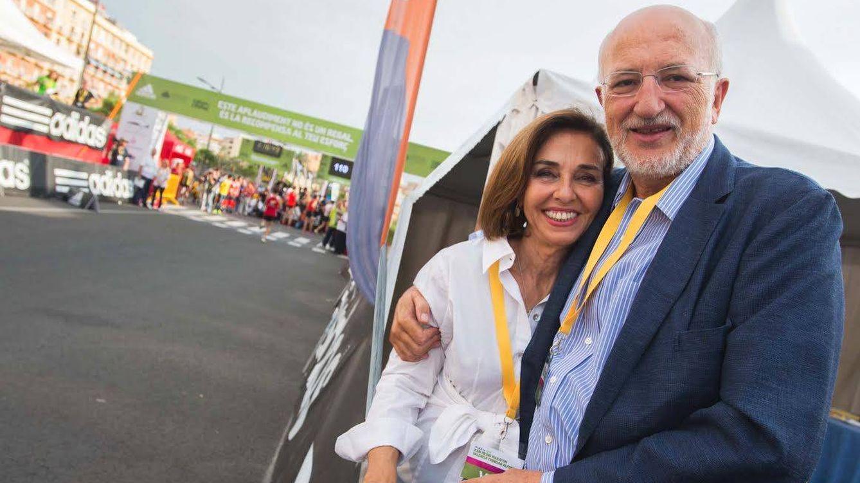 Foto: Juan Roig junto a su esposa
