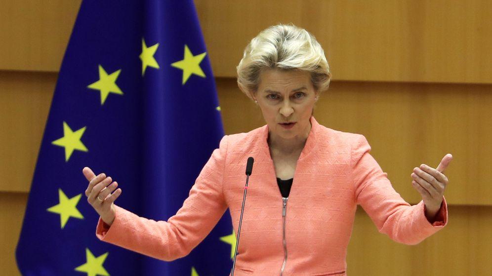 Foto: La presidenta de la Comisión Europea, Ursula von der Leyen. (Reuters)