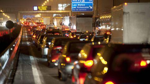 Caos en Madrid: cuatro túneles cortados y varios accidentes complican el tráfico