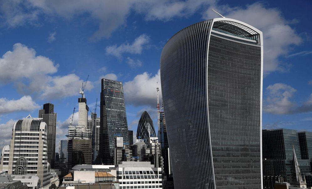 Foto: El distrito financiero de Londres, en una fotografía de la capital británica. (Reuters)
