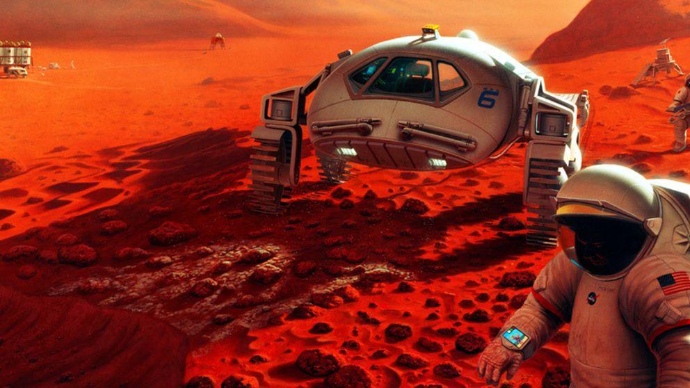 Los pequeños pasos que separan la Tierra de Marte
