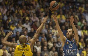 El Real Madrid se olvida de las exhibiciones ante el Maccabi