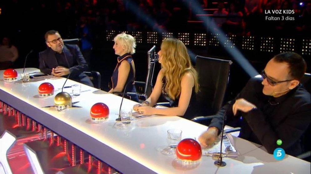 Foto: El jurado de 'Got Talent España' en la segunda semifinal del programa