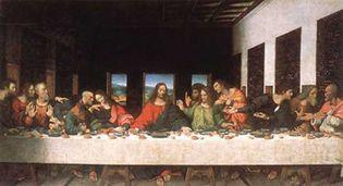 Foto: Descubren una supuesta imagen dentro de 'La Última Cena' de Leonardo da Vinci