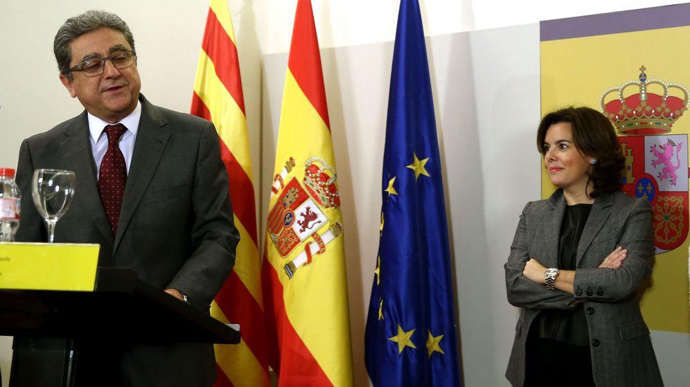 Foto: El nuevo delegado del Gobierno en Cataluña, Enric Millo. (EFE)