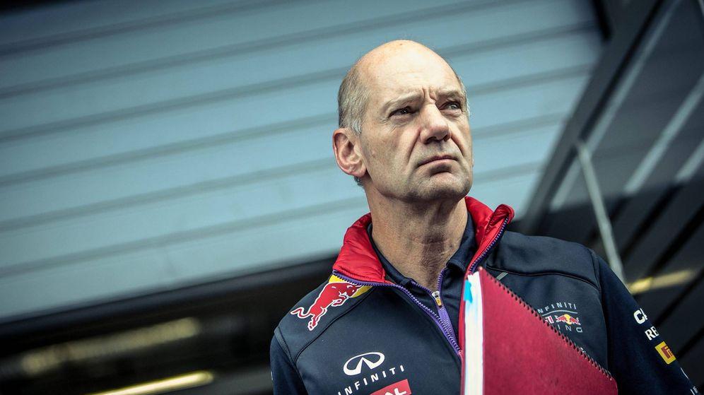 Foto: El ingeniero británico de Red Bull, Adrian Newey.