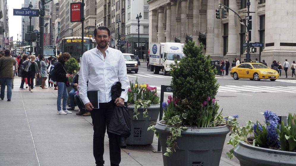Foto: Màxim Huerta en Nueva York. (EFE)
