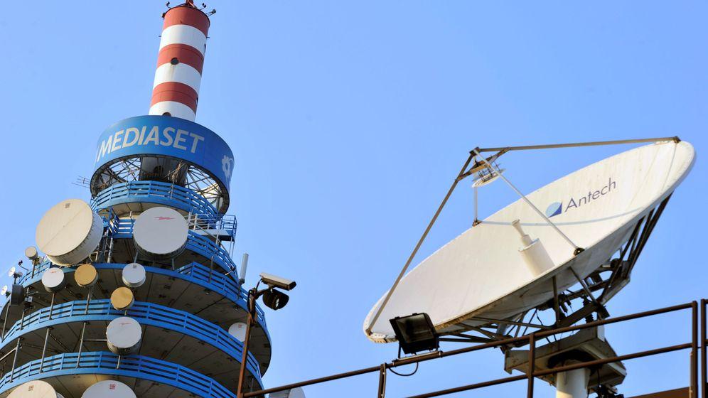 Foto: Torre de Mediaset Italia, en Milán. (Reuters)