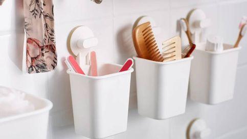 Las soluciones de Ikea para organizar tu baño sin tener que coger el taladro