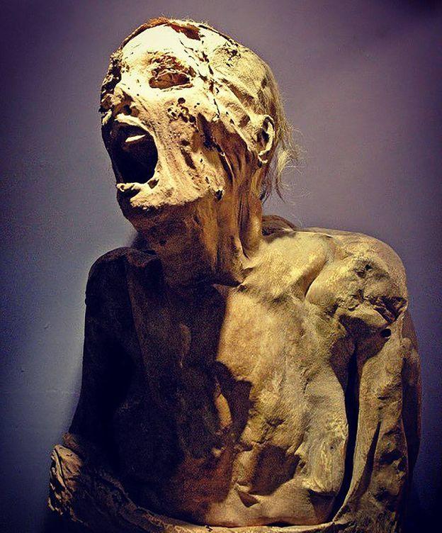 Foto: Resuelto el misterio de la 'momia que grita'. (CC)