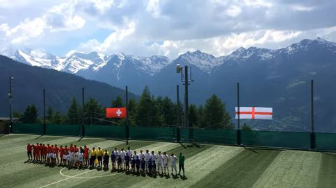Jugar en las alturas: así es el campo de fútbol más elevado de Europa