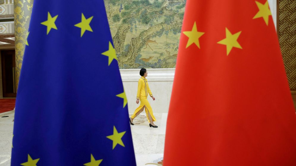 Foto: Diálogo de alto nivel UE-China en Pekín. (Reuters)