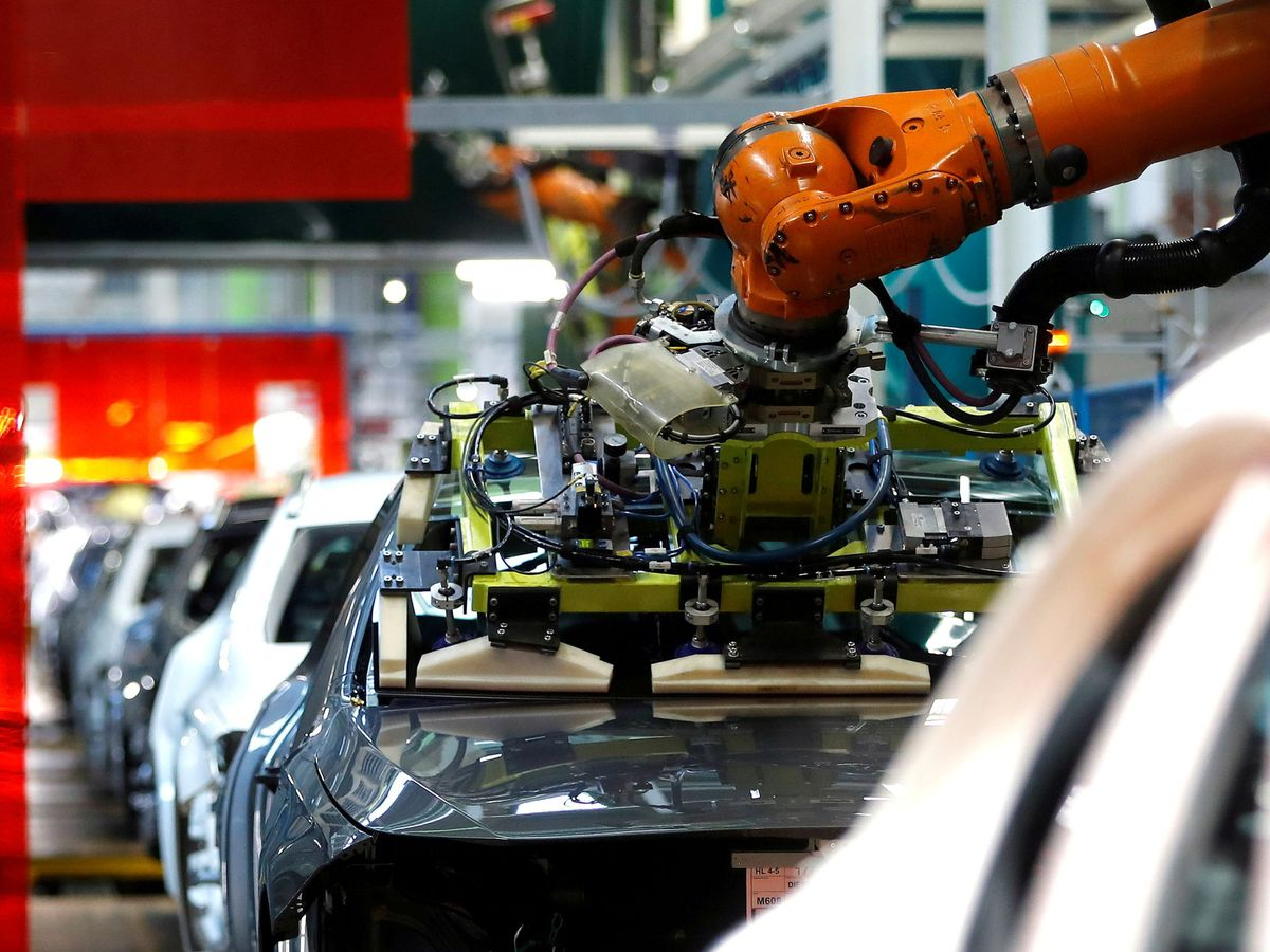 Foto: Una fábrica en Alemania (Reuters)