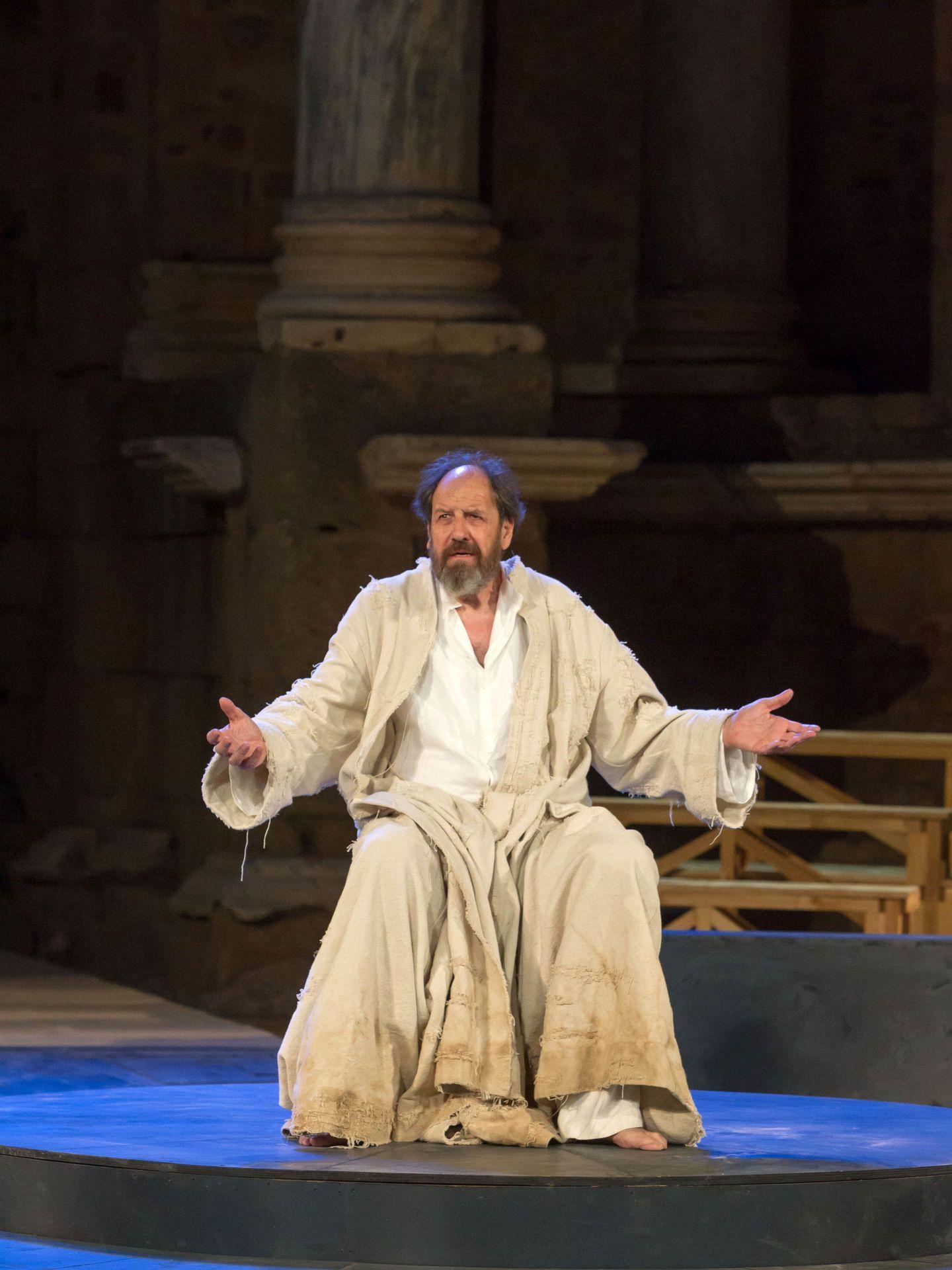 Josep María Pou en 'Socrates. Juicio y muerte a un ciudadano' (Jero Morales)