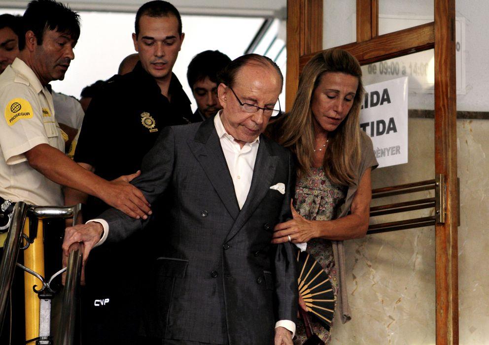 Foto: José María Ruiz-Mateos asistiendo a un juicio en 2012 (Gtres)