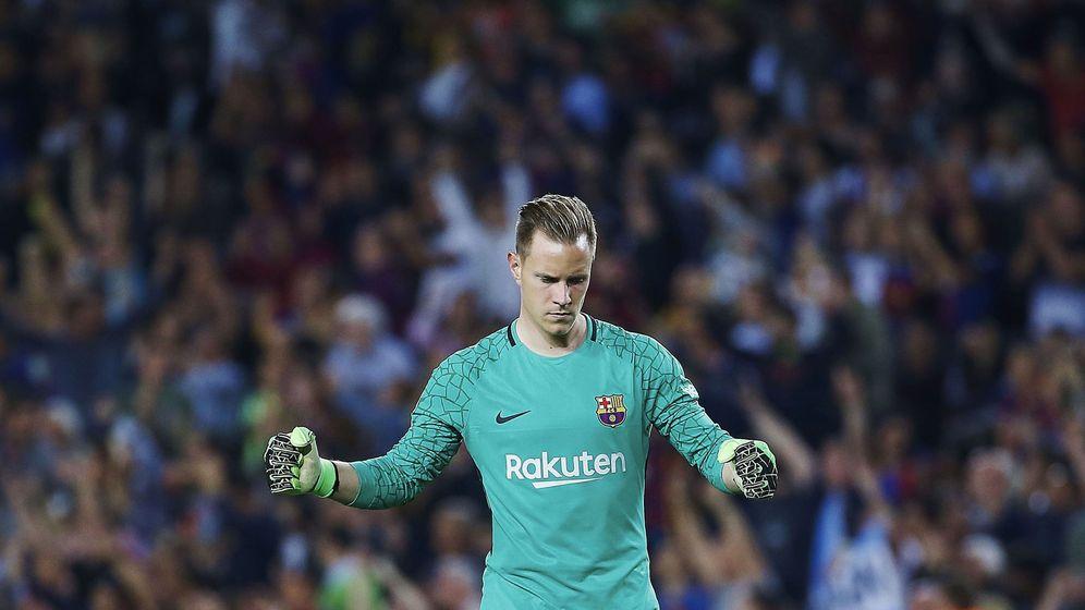 Foto: Ter Stegen disputa su cuarta temporada con el FC Barcelona. (EFE)