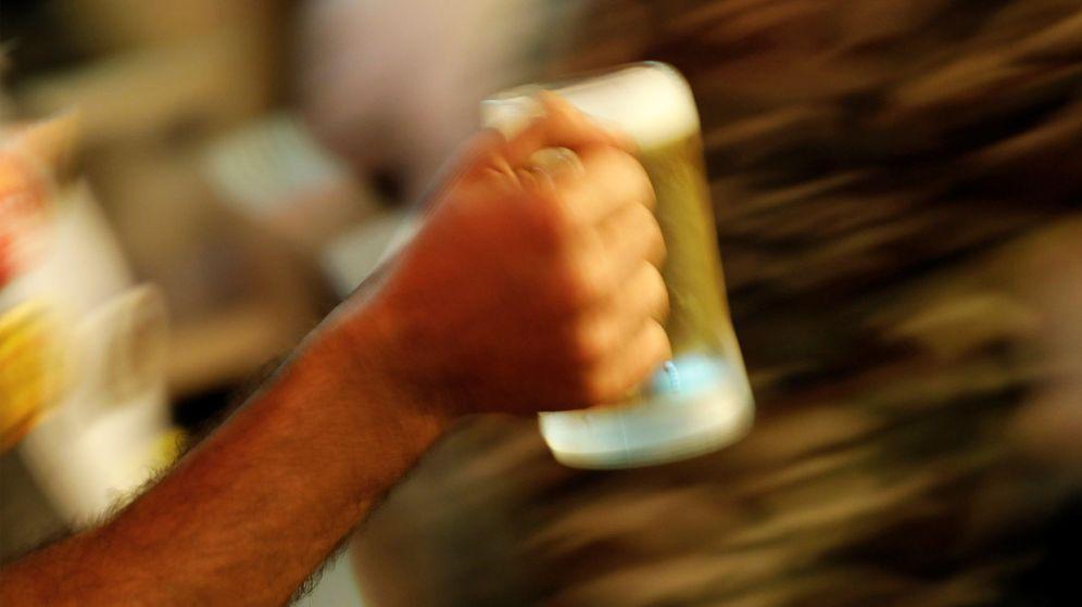 Foto: Un brindis con cerveza.