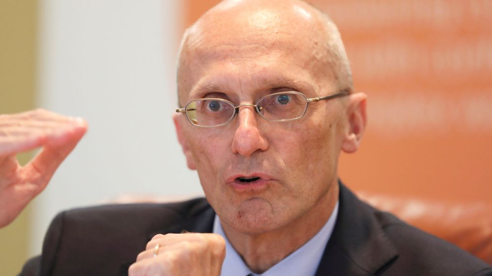 Foto: Andrea Enria, presidente del MUS (BCE), regulador bancario europeo. (Reuters)