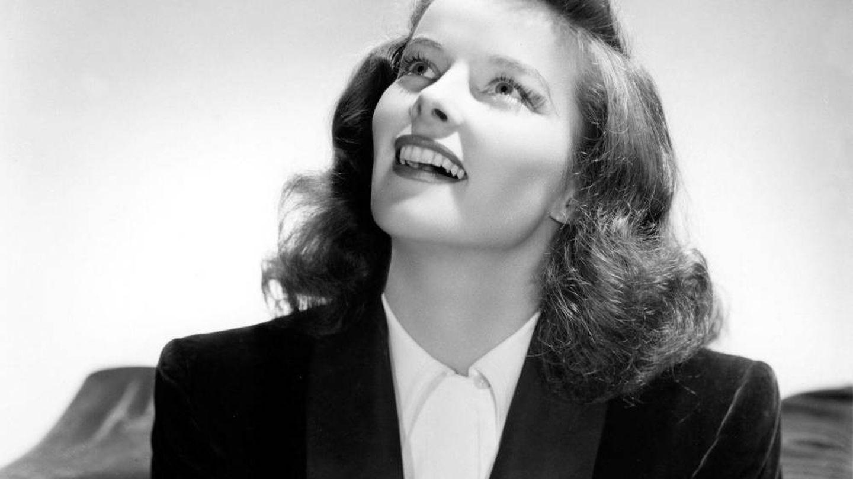 Katharine Hepburn en los años 40. (Cordon Press)