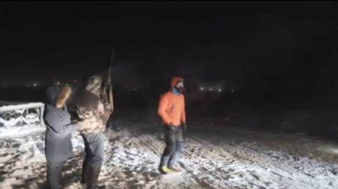 Un atleta moldavo completa una extrema carrera solidaria a 60 grados bajo cero