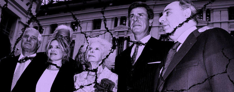 Foto: La duquesa de Alba junto a cinco de sus hijos en un fotomontaje realizado en 'Vanitatis'
