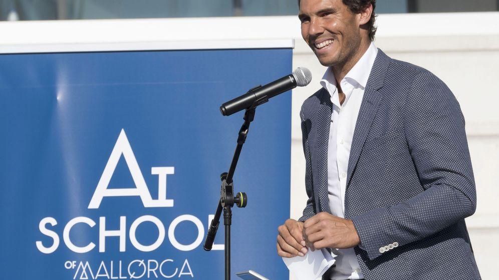 Foto: Rafa Nadal levantó su academia en Manacor, su pueblo natal. (EFE)